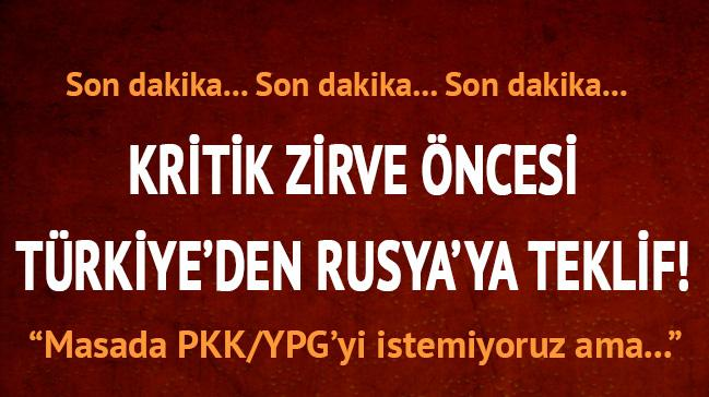 Dışişleri kaynakları: Masada PYD değil Kürtler olsun