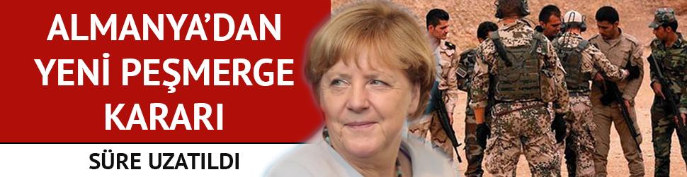 Almanya'dan flaş Peşmerge kararı