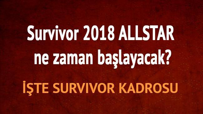 Survivor 2018 fragmanı TV 8 izle Survivor 2018 All star ne zaman kadrosu kimler var?