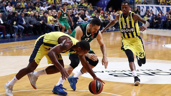 Fenerbahçe Doğuş evinde Zalgiris Kaunas'a 89-90 mağlup oldu