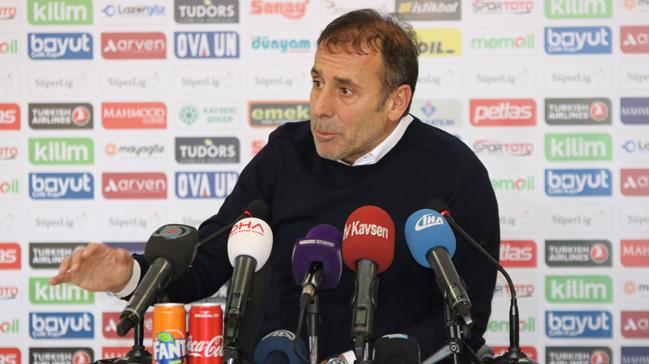 Abdullah Avcı Kahramanmaraşspor maçı sonrası oyundan memnun olmadığını söyledi