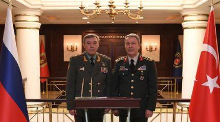 Genelkurmay Başkanı Orgeneral Hulusi Akar, Rus Mevkidaşıyla Ankara'da görüştü
