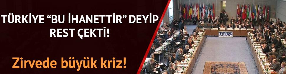 Türkiye 'bu ihanettir' deyip rest çekti!