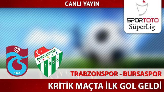 Trabzonspor - Bursaspor | CANLI