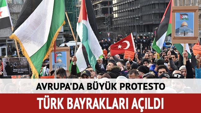 Avrupa'da büyük protesto!