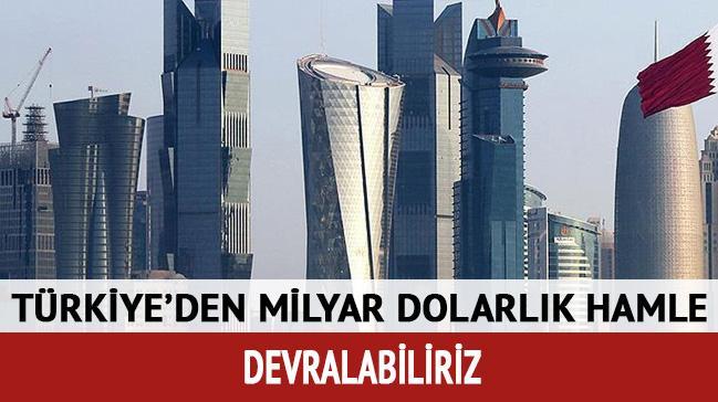 'Katar'da 110 milyar dolarlık pazar açıldı'