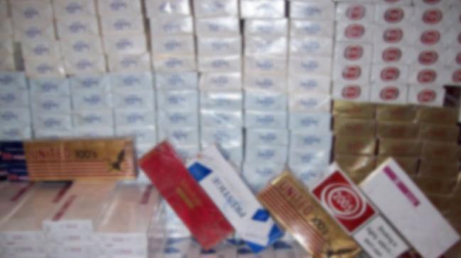 Sakarya'da 38 bin 306 paket kaçak sigara ele geçirildi