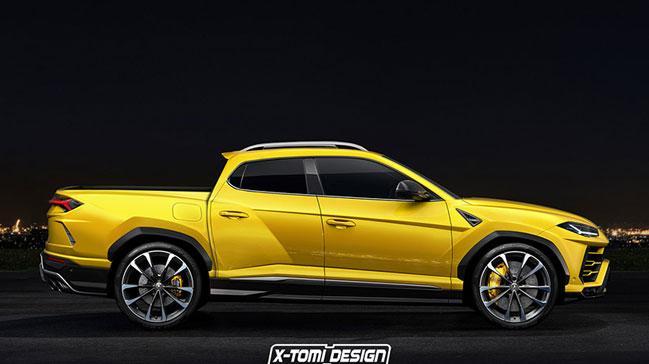 Lamborghini+Pick-Up+m%C4%B1?+Daha+neler…