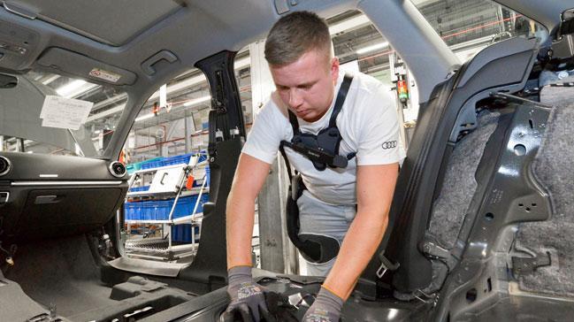 Audi+%C3%A7al%C4%B1%C5%9Fanlar%C4%B1na+%C3%B6zel+iskelet+geli%C5%9Ftirdi%21;+