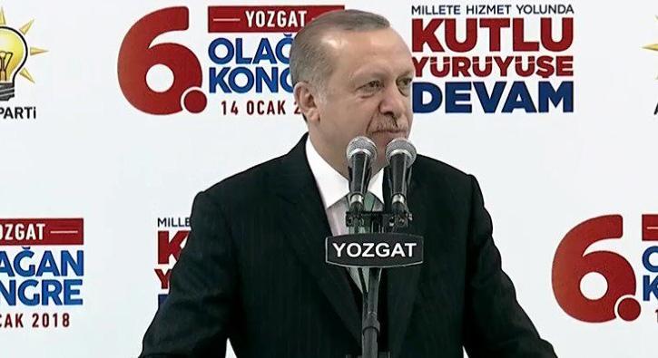Cumhurbaşkanı Erdoğan'dan Yozgat'a müjde: Yozgat havalimanı 2020 yılında hizmete girecek