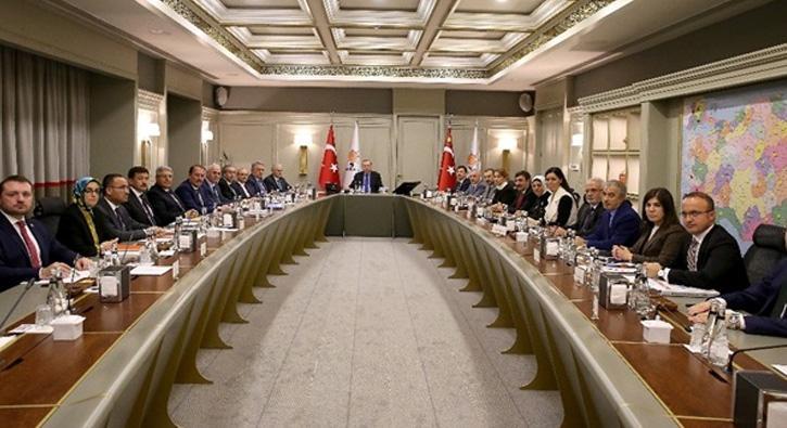 AK Parti MYK, Cumhurbaşkanı ve AK Parti Genel Başkanı Erdoğan başkanlığında toplandı