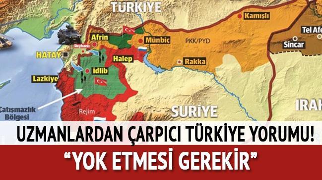 Orta Doğu uzmanlarından çarpıcı Türkiye yorumu: İmha etmeliyiz!