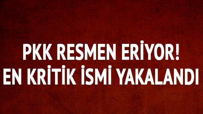 PKK eriyor! En kritik ismi yakalandı