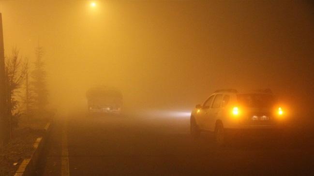 Doğu Anadolu'da yoğun sis