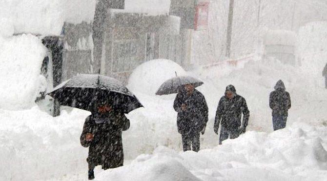 Van kar tatili olan ilçeler 17 Ocak Çarşamba Van'da yarın okullar tatil mi?