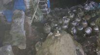 Tunceli'de 26 teneke amonyum nitrat ve patlayıcı ele geçirildi