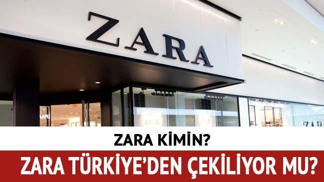Zara neden kapanıyor? Zara kapanıyor mu Türkiye'den çekiliyor mu?