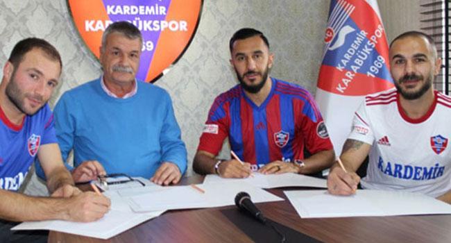 Kardemir Karabükspor'dan 3 transfer birden
