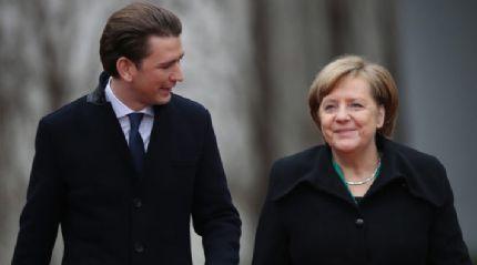 Merkel'den Kurz'a tokat gibi sözler