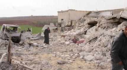İdlib'deki hava saldırıları: 5 sivil öldü