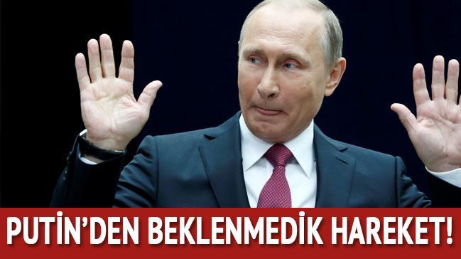 Putin'den beklenmedik hareket!..