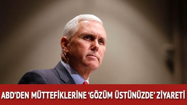 ABD Başkan Yardımcısı Pence Orta Doğu'ya tekrar geliyor