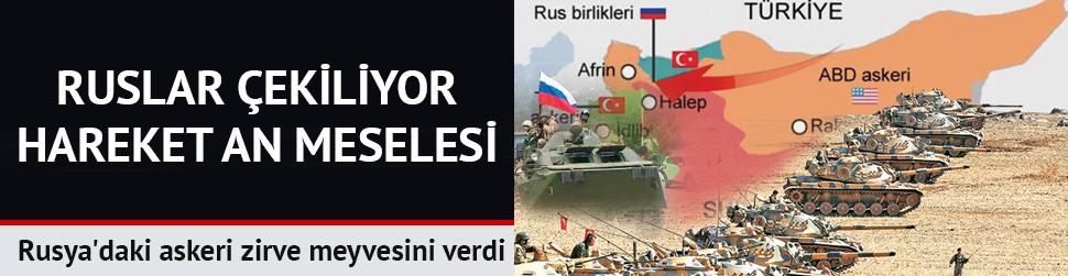 Rus askeri Afrin'de Mehmetçiğin önünü açtı