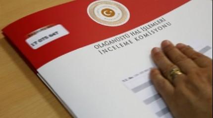 OHAL komisyon kararları açıklandı