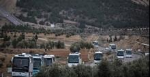 ÖSO unsurları, Kilis'ten otobüslerle sınırı geçti