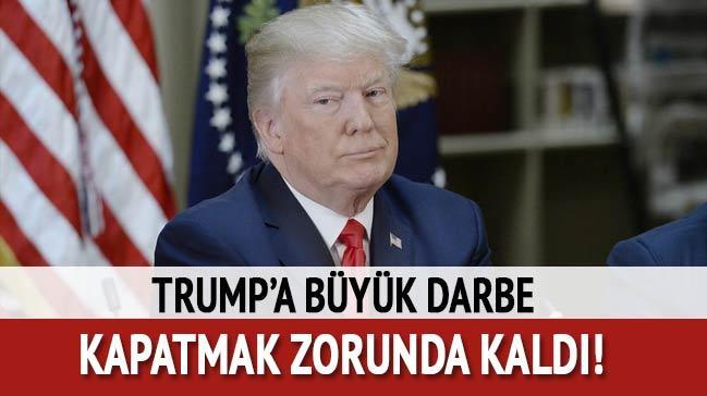 Trump'a darbe