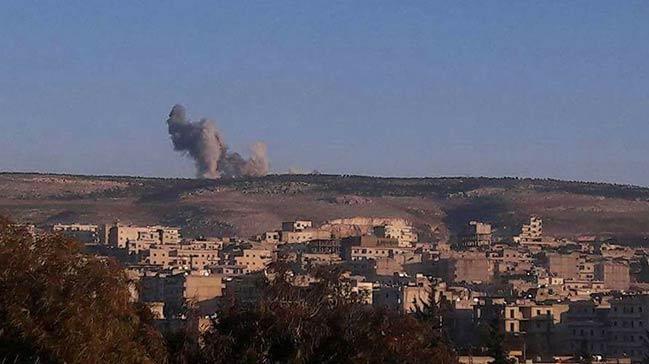 Türk jetleri PYD/PKK'nın gözlem noktalarını vurdu