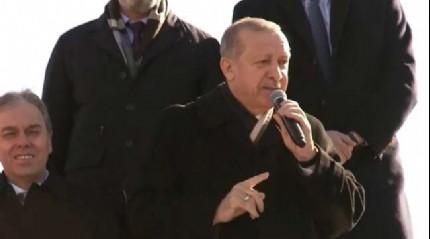 Cumhurbaşkanı Erdoğan'dan önemli açıklama: Hedefimiz...