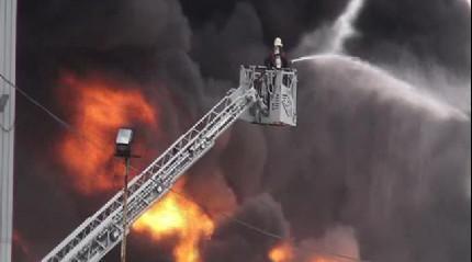 Maltepe'de yangın! Ekipler olay yerinde