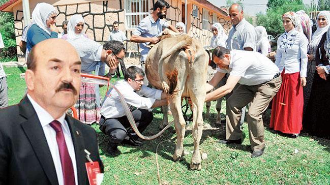 'Hayvancılık için okullar kuralım'