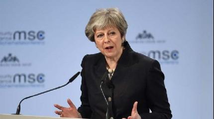 İngiltere Başbakanı May: Avrupa'nın güvenliği bizim de güvenliğimiz