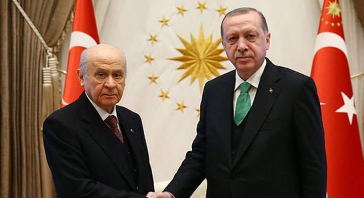 Cumhurbaşkanı Erdoğan ve MHP lideri Bahçeli'nin ittifak randevusu sona erdi