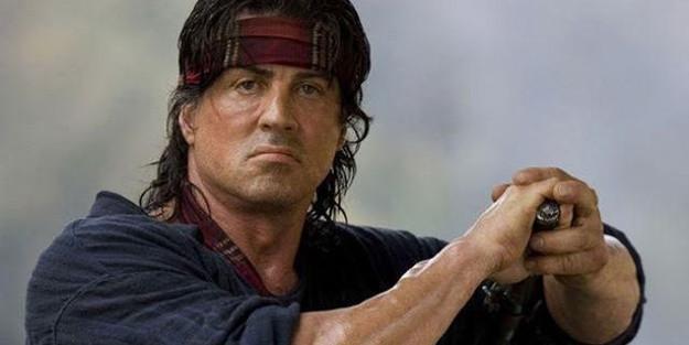 Sylvester Stallone Rambo son dakika öldü mü Sylvester Stallone kimdir ne kanseri