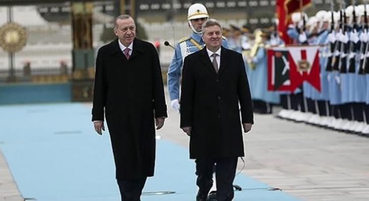 Cumhurbaşkanı Erdoğan, İvanov'u resmi törenle karşıladı