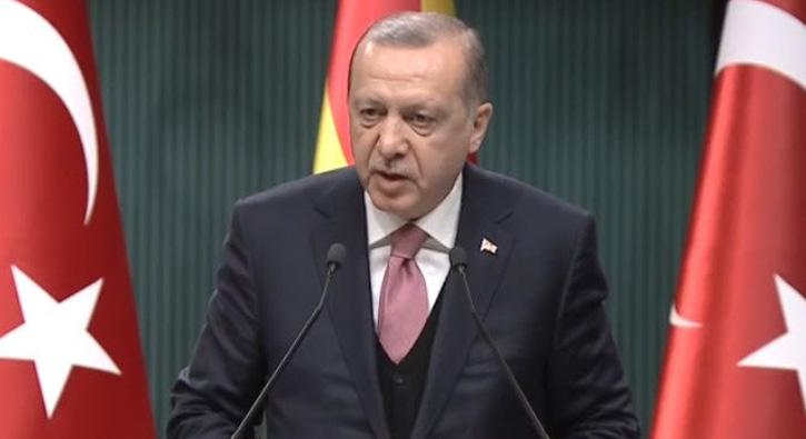 Cumhurbaşkanı Erdoğan: Top atışlarıyla geri dönmek zorunda kaldılar