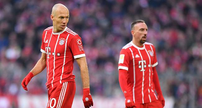 Robben ve Ribery yedek!