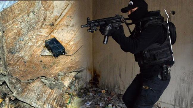 Diyarbakır'da uyuşturucu operasyonunda 15 el yapımı patlayıcı bulundu