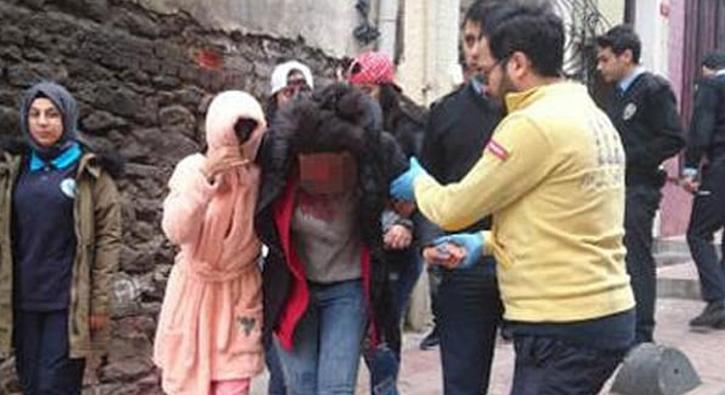 Beyoğlu'nda genç kadına korkunç saldırı