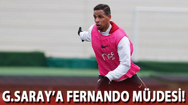 Fernando'dan müjdeli haber!
