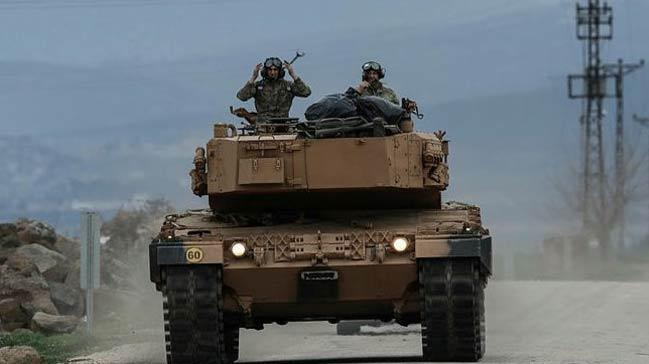 Terör örgütü PKK/PYD'nin Türkiye ile olan sınır temasının kesilmesine Kuzey'den 7, Batı'dan 7,8 kilometre kaldı