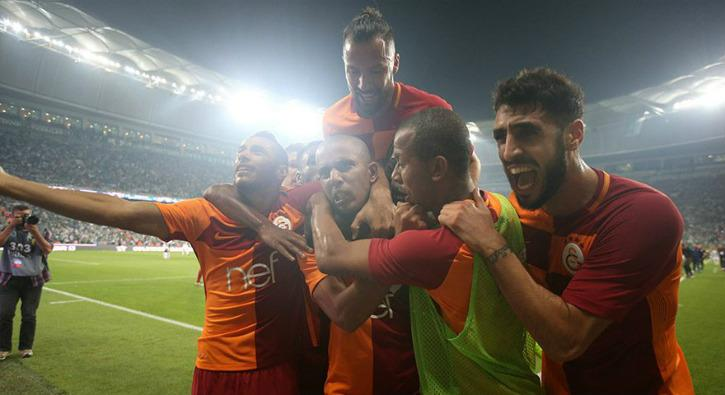 Galatasaray farklı geçti