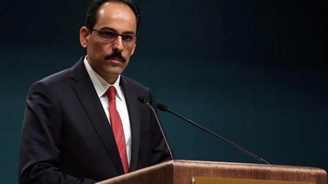 Cumhurbaşkanlığı Sözcüsü Kalın: Doğu Guta'daki katliama bütün dünya el birliğiyle dur demeli