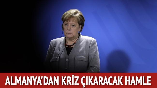 Almanya'dan kriz çıkaracak hamle