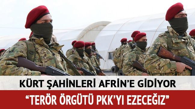 Afrinli Kürt Şahinleri, YPG/PKK'ya karşı hazırlıklarını tamamladı