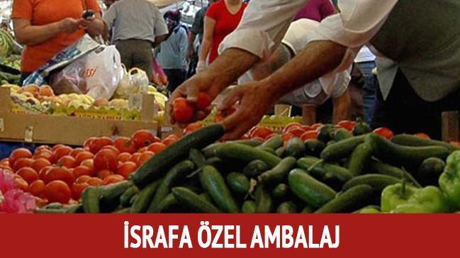 Sebze-meyveyi ucuzlatacak formül - İsrafa karşı özel ambalaj