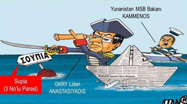 'Güney Kıbrıs Rum Yönetimi Türkiye ile başa çıkamaz'